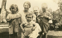 Agnes with 4 children